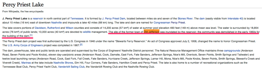 Official Percy Priest Wikipedia page
